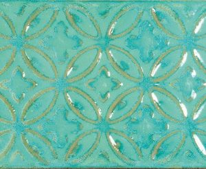 batik-aquamarina-glossy-patterned-wall-tile-art-moroccan-design-zurbaran-bestile-best tile-