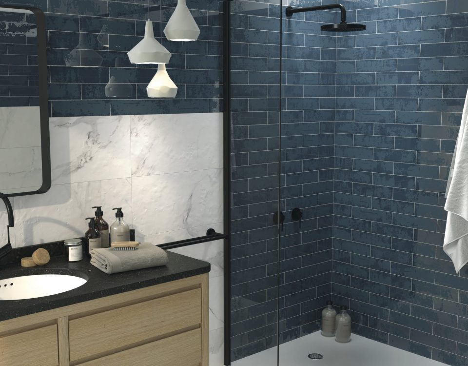 grunge-blue-metallic-wall-tiles-bathroom-kitchen-brick-urban-design-dishevelled-oil-slick