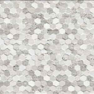 marvel-grey-hexagon-patterned-tile