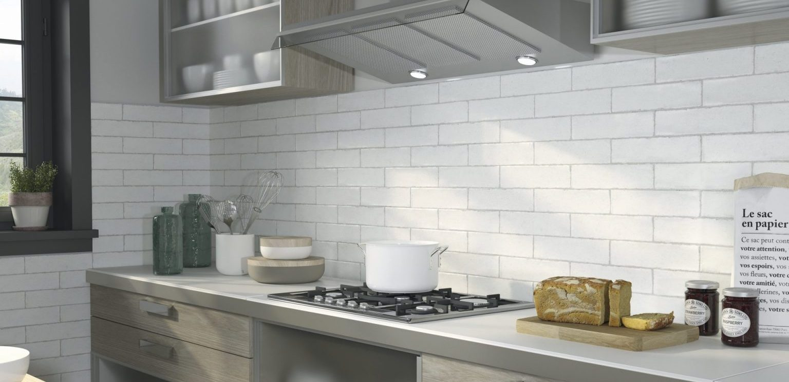 Using brick-style tiles in your kitchen